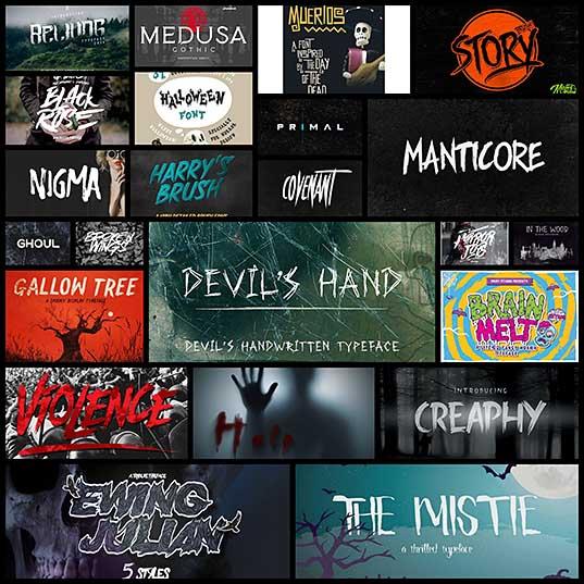 23 Horror-Inspired Fonts