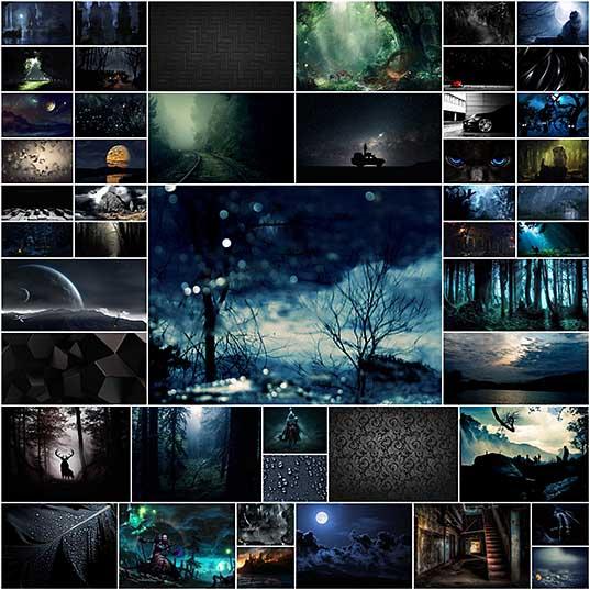 Breathtaking Dark Wallpapers For Your Desktop - Hongkiat