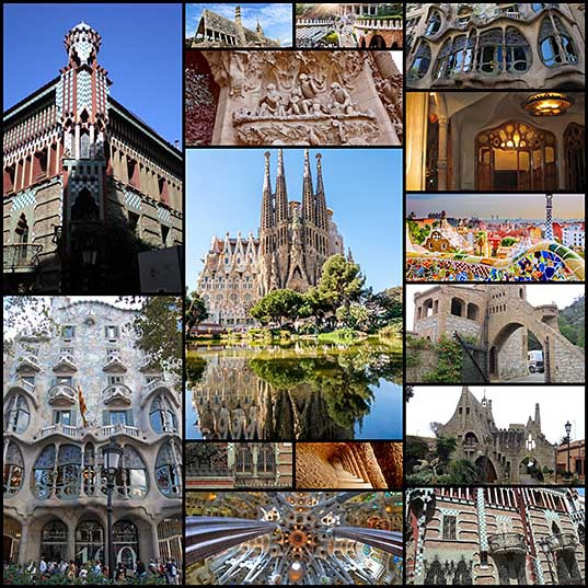 Gaudi Architecture Exploring Iconic Modernisme Works by Antoni Gaudi