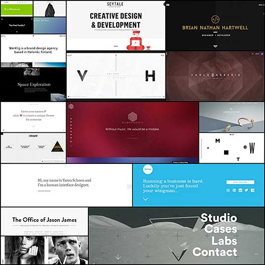 Top 20 Inspiring Examples Of Ultra-Minimalist Websites
