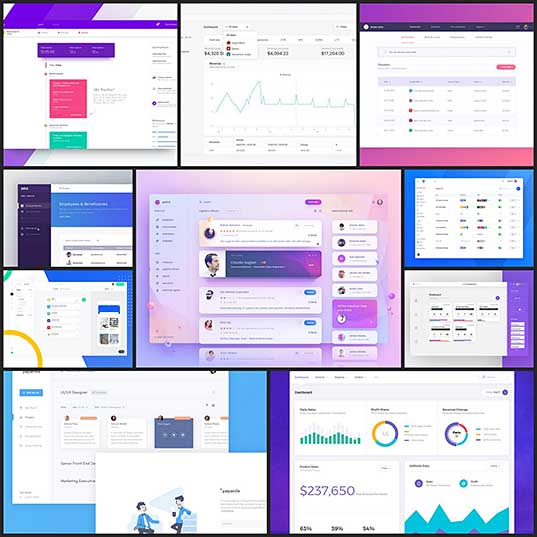 10 Inspiringly Designed Admin Dashboard Layouts