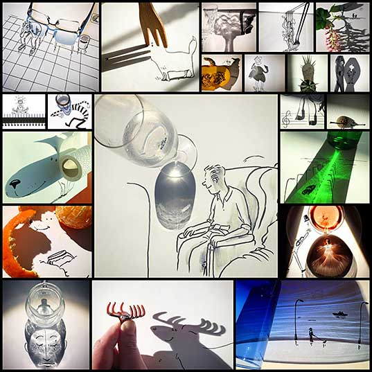 Artist Casts Shadows and Doodles on the Results (21 Photos) «TwistedSifter
