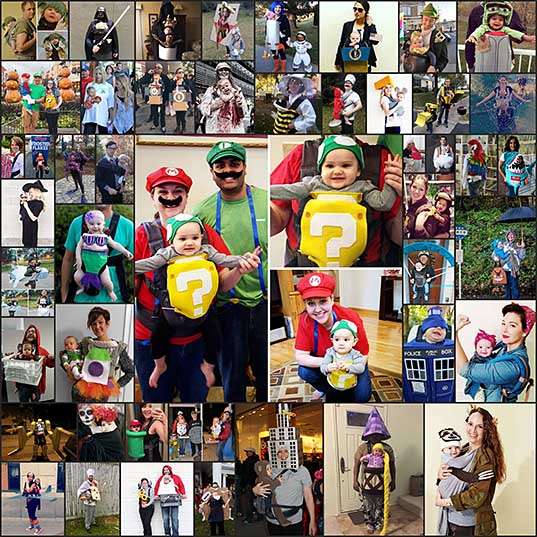50+ Genius Halloween Costume Ideas For Parents With Baby Carriers Bored Panda