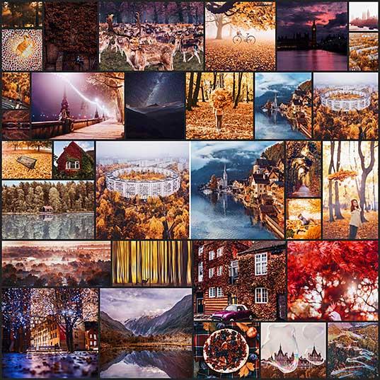 Фотограф Кристина Макеева как осень выглядит во всем мире