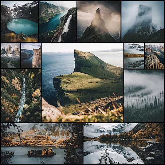 18-Year-Old's Landscape Photography Captures Epic Mountain Ranges