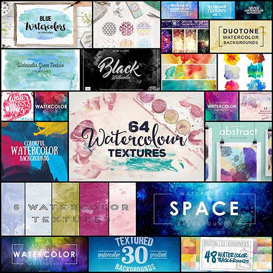 20+ Best Watercolor Background Textures Design Shack