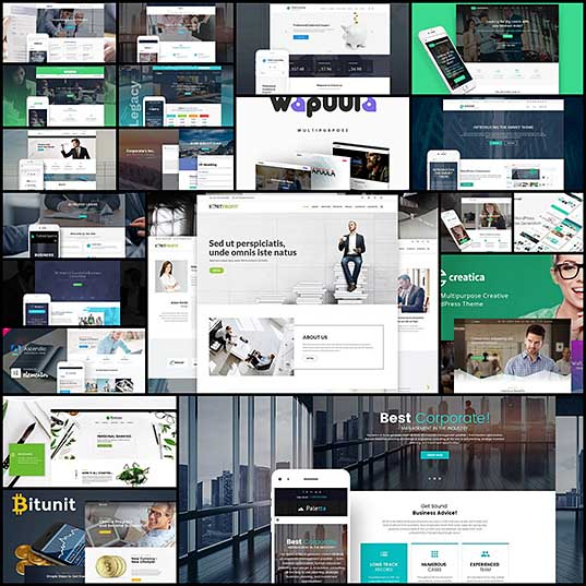 Top 20 Financial WordPress Themes For Corporate Websites