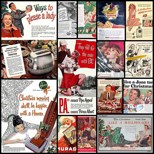 These Vintage Christmas Ads Would've Been So Out-Of-Place Nowadays (14 pics) - Izismile