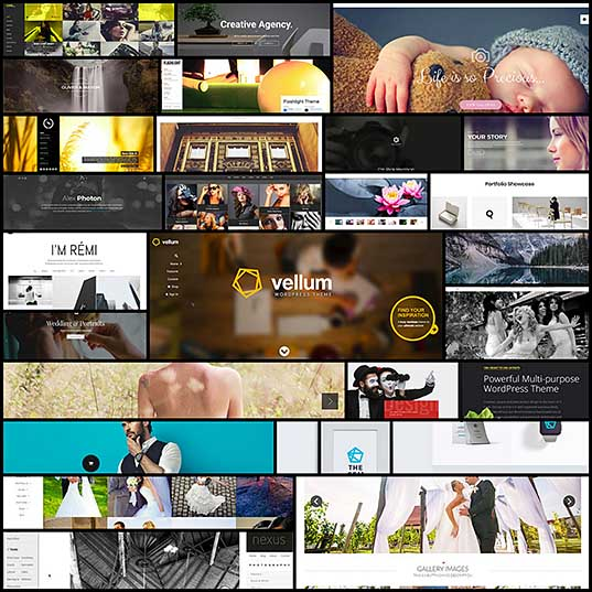 25 WordPress Photography Themes for Photographers
