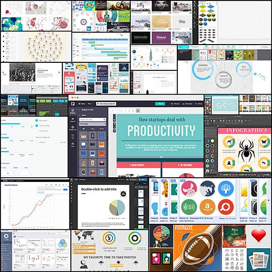 30 Tools to Create Your Own Infographics - Hongkiat