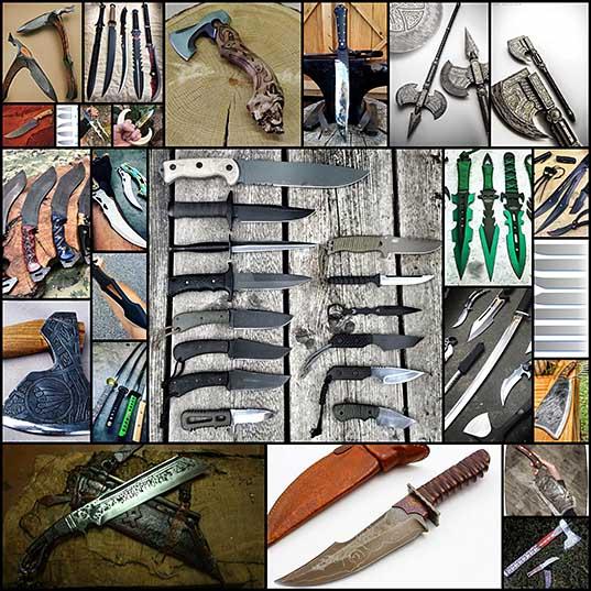 Уникальные по красоте холодное оружие - ЯПлакалъ