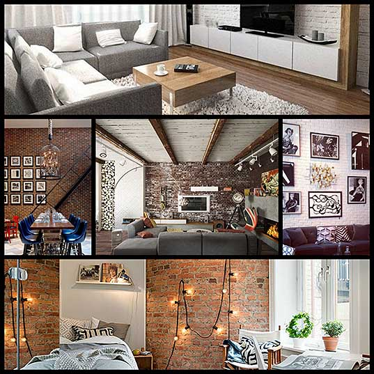Creative Ideas for Decorating With an Exposed Brick Wall – Design Swan