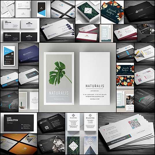 Creative Corporate Business Card Templates Graphics Design Design Blog