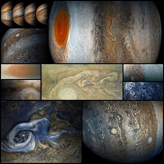 Jupiter Up Close Looks Like a Van Gogh Painting (10 Photos) «TwistedSifter