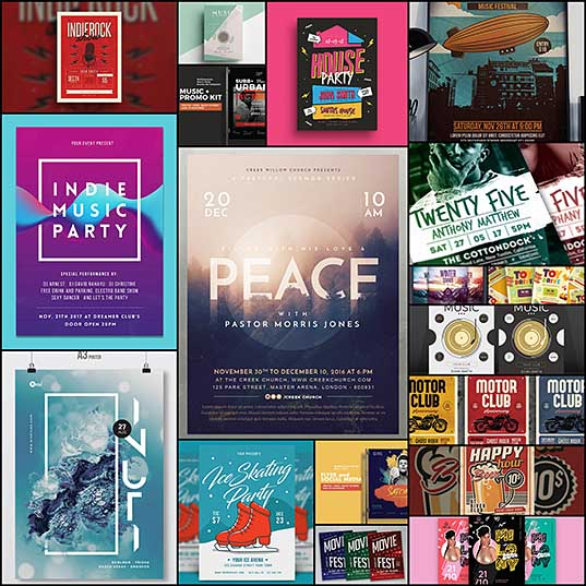 18 Best New Event Flyers for 2018