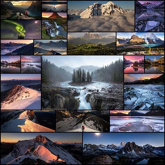 По самым живописным местам планеты фотографы создают коллекцию потрясающих пейзажей