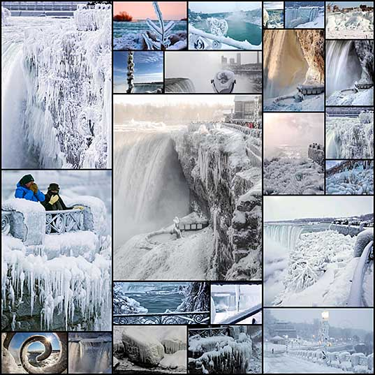 It's So Cold In North America That Niagara Falls Is Frozen, And It Looks Like Something From Narnia Bored Panda_2