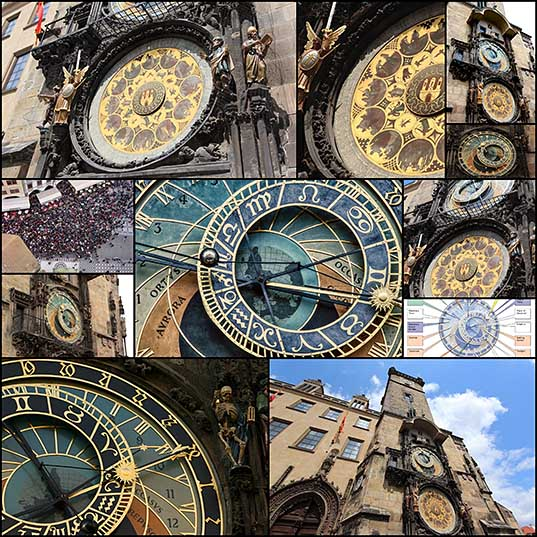 11 Prague Astronomical Clock is 600 Year Old Work of Medieval Art