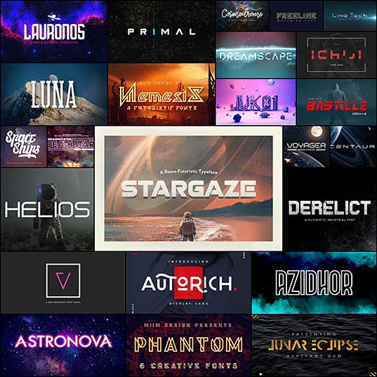20+ Best Space Fonts Design Shack