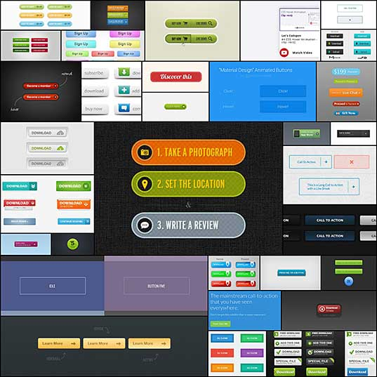 30+ Call to Action Button Templates to Download - Hongkiat