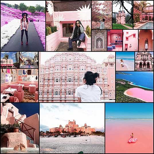 Мир в розовом цвете