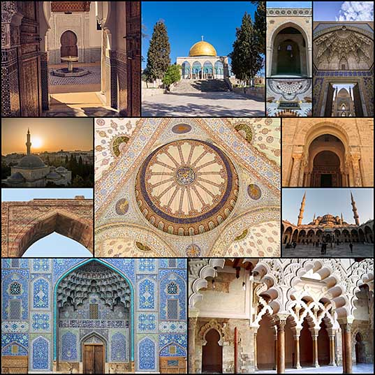 12 The Distinctive and Dazzling Elements of Islamic Architecture