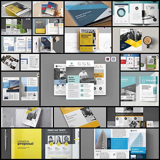 20+ Best Microsoft Word Brochure Templates Design Shack