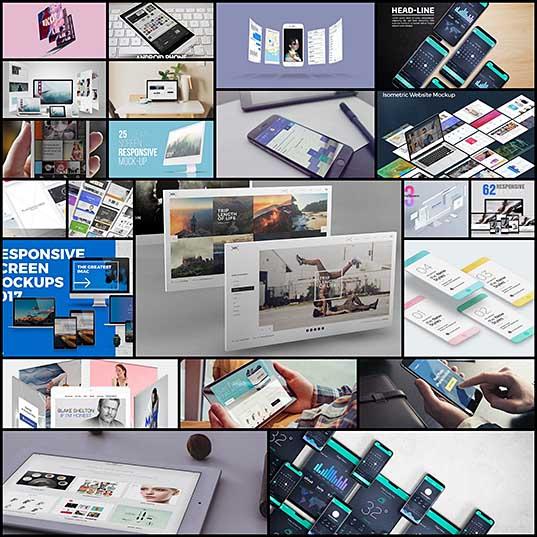 20+ Best Responsive Website & App Mockup Templates Design Shack