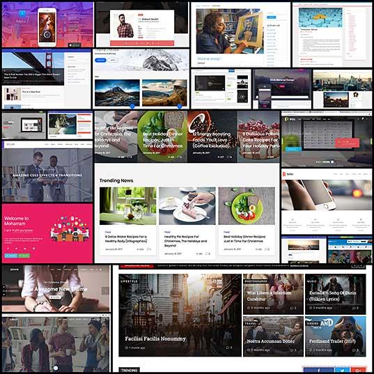 21 Top Material Design WordPress Themes for 2018 - Hongkiat