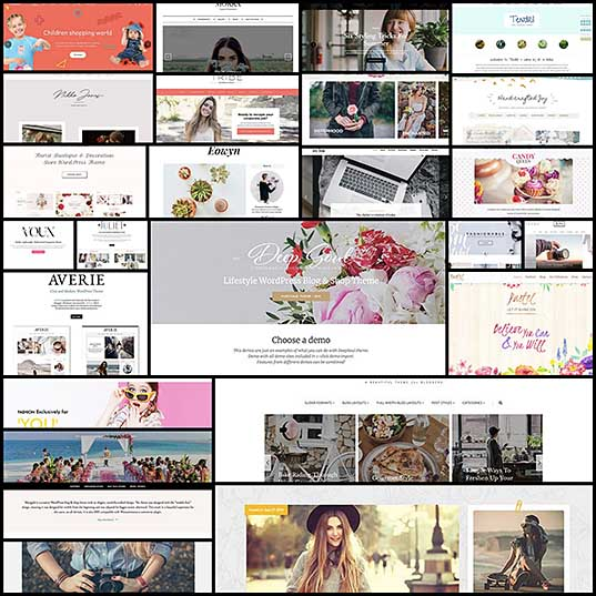 25 Feminine WordPress Themes for Girl Power Websites
