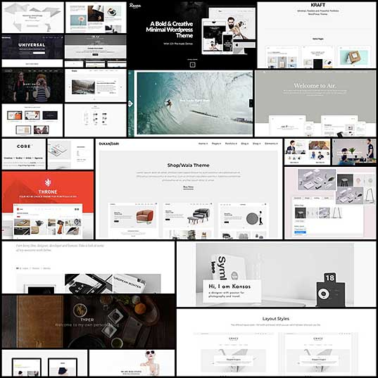 25 Minimal WordPress Themes for Simple and Clean Websites