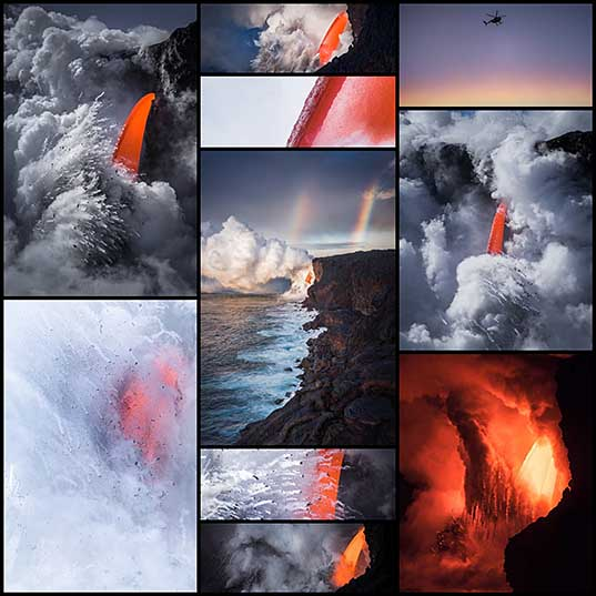 Photographer Captures Intense Beauty of Volcano in Hawaii Photography