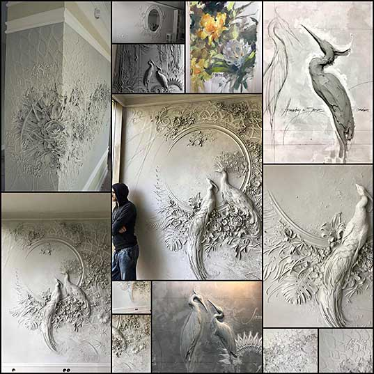 13 Intricate Bas-Relief Sculpture Resembles Intricate Impressionist Paintings