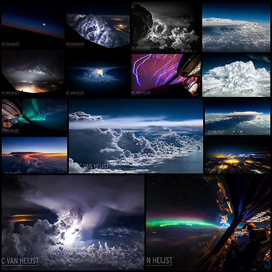 15 Airline Pilot Captures the Dramatic Beauty of Weather Photography
