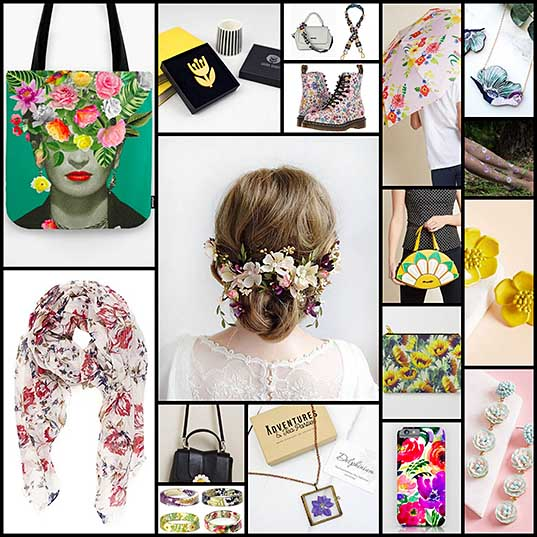 15+ Floral Accessories to Celebrate Spring in Style