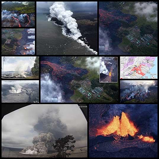 Извержение вулкана Килауэа грозит техногенной катастрофой