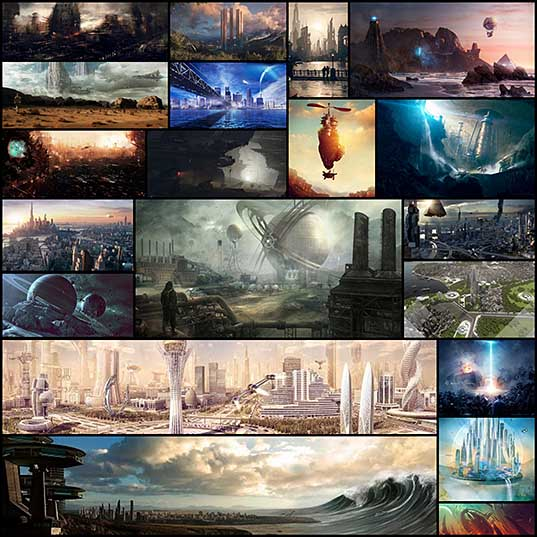 20 Absolutely Magnificent Futuristic City Digital Art - PSD Vault