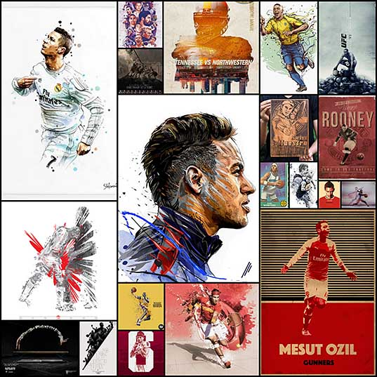 20 Highly Creative Sports Poster Design to Boost Your Imagination - PSD Vault