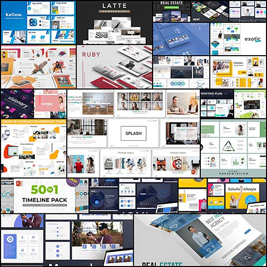 20+ Modern Professional PowerPoint Templates Design Shack
