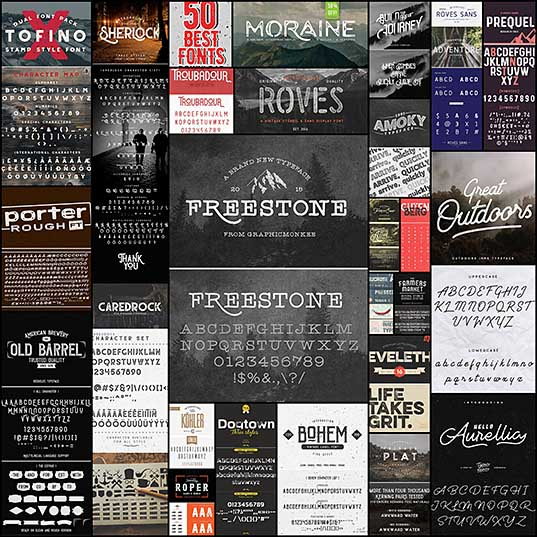 25 Best Vintage Fonts Download Fonts Design Blog