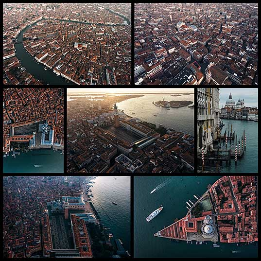7 Stunning Drone Photos of Venice Show Unique View of the City