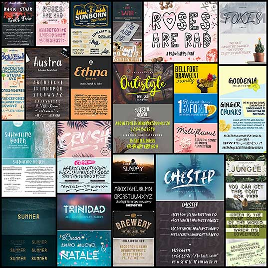 20 Awesome Display Fonts For Designers Fonts Design Blog