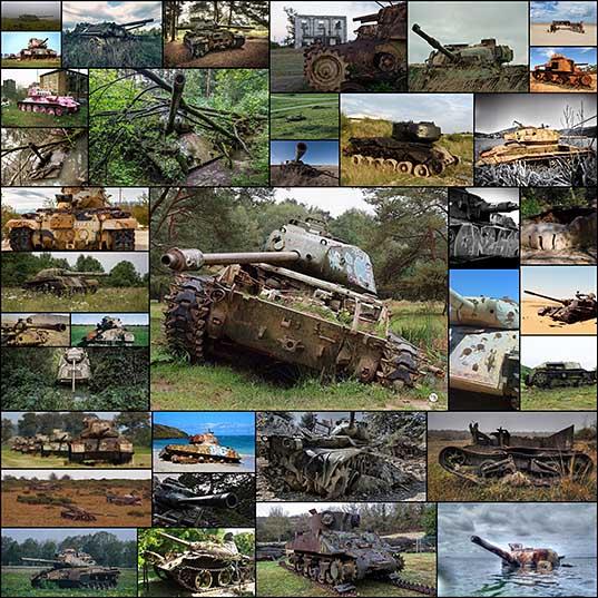 Не стреляй! Заброшенные танки со всего мира