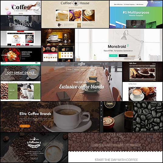 Top 33 Coffee WordPress Themes