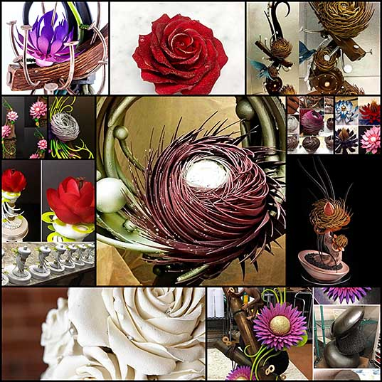 Incredible Flowers Made From Chocolate by Pastry Chef Amaury Guichon – Design Swan