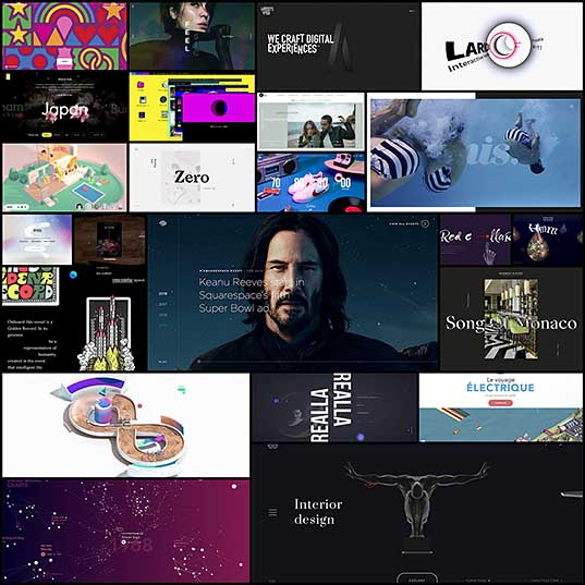 20+ Brilliant Examples of Unusual Navigation in Web Design InstantShift