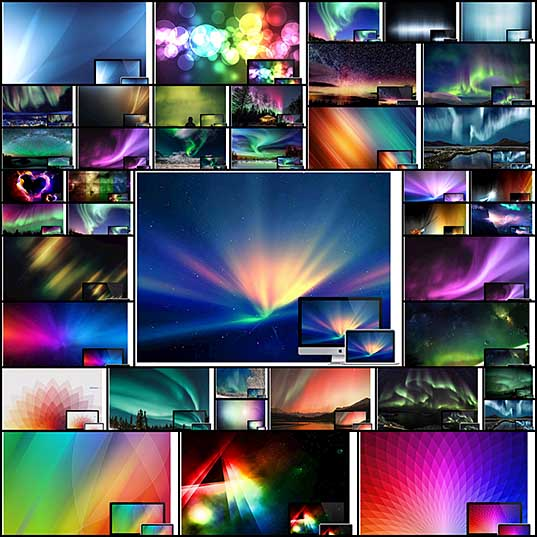 50 Gorgeous Aurora and Colour Spectrum Wallpapers - Hongkiat