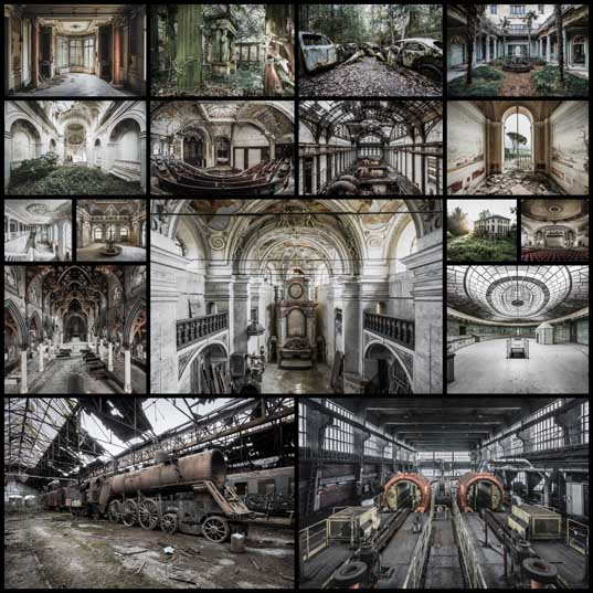 Incredible Abandoned Locations