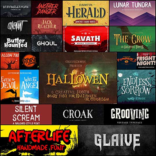 20+ Best Spooky Halloween Fonts Design Shack
