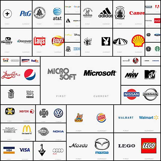 Famous Brands Change Their Logos All The Time (35 pics) - Izismile